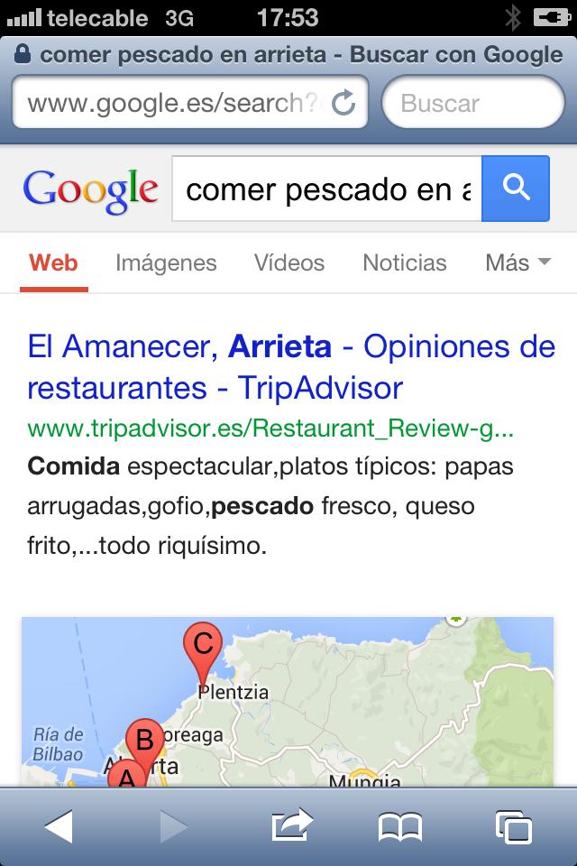 El Amanecer en Google