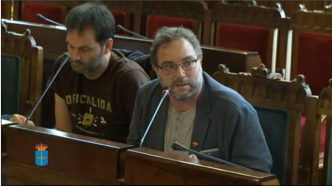 Comparecencia de Lluis Nel Estrada na Comisión Especial d'Estudiu sobre'l Réxime de Proteición y Promoción del Asturianu na Xunta Xeneral del Principáu d`Asturies.